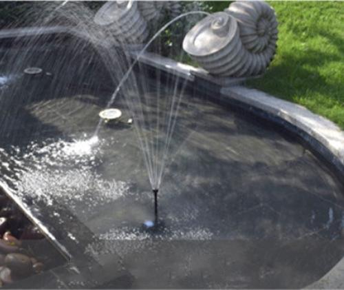 太阳能景观喷泉