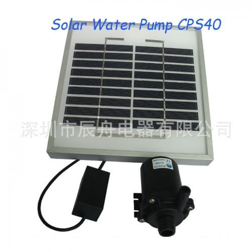 关于太阳能水泵在农业发展上起着什么样的作用