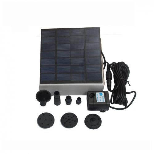 关于太阳能水泵组成材料有哪些?