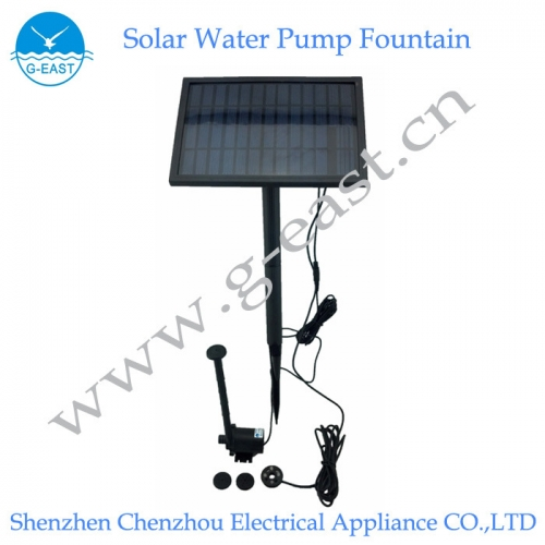 太阳能水泵喷泉