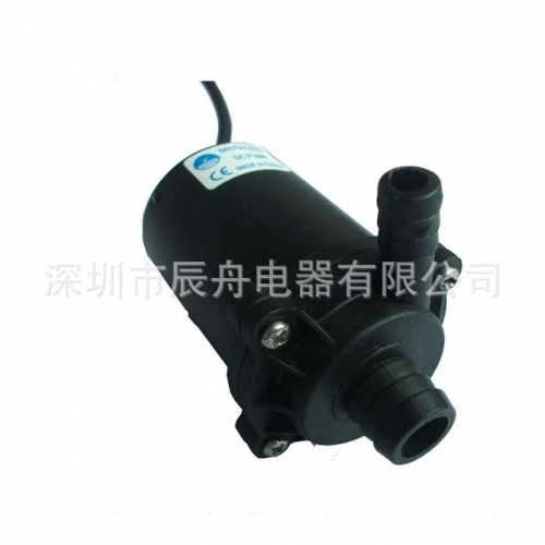 Can the micro high pressure water pump pump water into the pressure tank?
